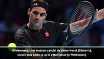 "Masters - Federer : ""Toujours spécial de battre Djokovic"""