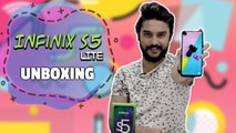 Infinix S5 Lite Quick Unboxing and First impression