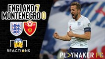 Reactions | England 7-0 Montenegro: Kane defies form book to fire England to Euro 2020