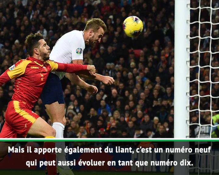"""Angleterre - Southgate : """"Kane peut jouer en numéro neuf et numéro dix"""""""