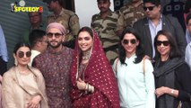 Ranveer Singh and Deepika Padukone return to Mumbai from Amritsar with their families