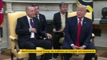 Destitution Donald Trump : les auditions au Congrès ont commencé