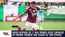 Qui est Reinier, la pépite brésilienne pistée par le PSG et le Barça