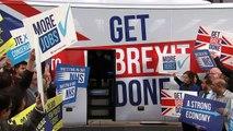 Boris Johnson unveils Tory's 'Get Brexit Done' election bus