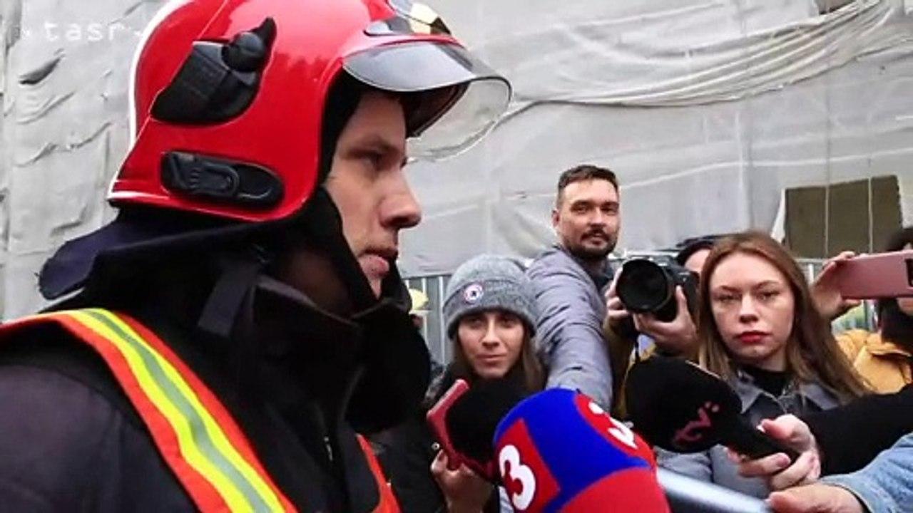 Hasiči zasahovali pri požiari v bratislavskej Starej tržnici