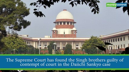 SC holds Singh brothers guilty of contempt in Daiichi Sankyo case