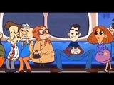 Metroda oturanlar dikkat
