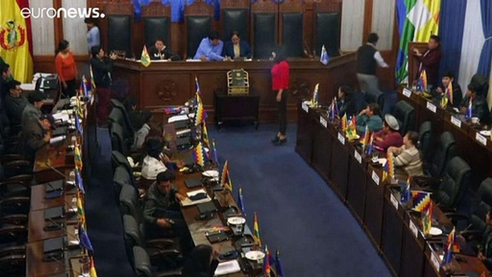 Bolivia, nuova presidente del Senato. Accordo per andare a elezioni