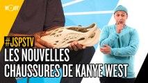Je sais pas si t'as vu... Les nouvelles chaussures de Kanye West