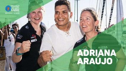 Adriana Araújo recebe equipe 100% feminina na Transat