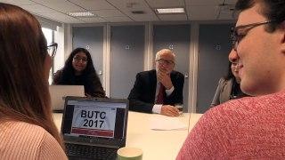 Jeremy Cobyn meets students at Lancaster University