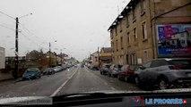 Avenue de Lyon entre Bourg et Péronnas la route de toute les publicités