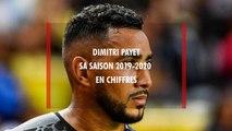 OM - Dimitri Payet : les chiffres de la saison 2019-2020
