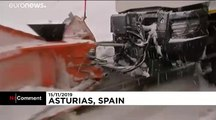 Masszív havazás és áradások Spanyolországban