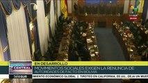 Edición Central: Pueblo boliviano exige renuncia del gobierno de facto