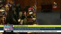 Senado boliviano busca reestructurar su directiva