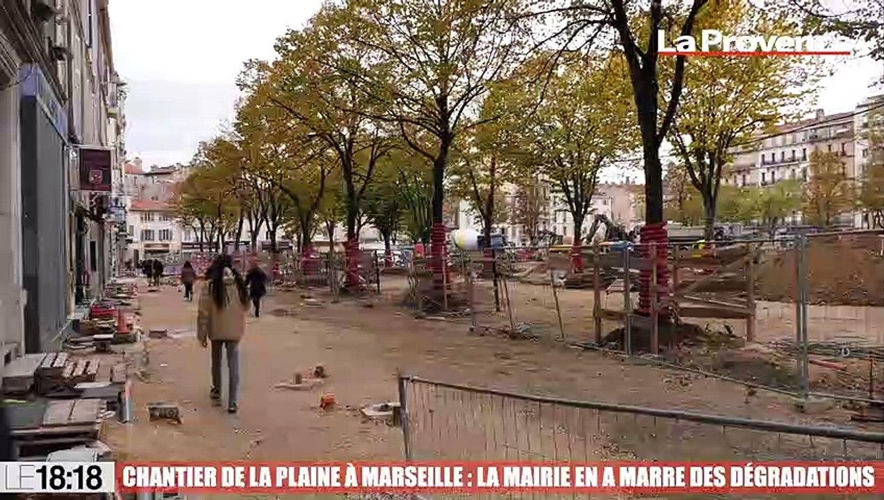 Le 18:18 - Marseille : le chantier de la Plaine victime de nombreux actes de vandalisme