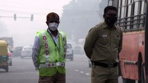 Poluição do ar asfixia Nova Délhi