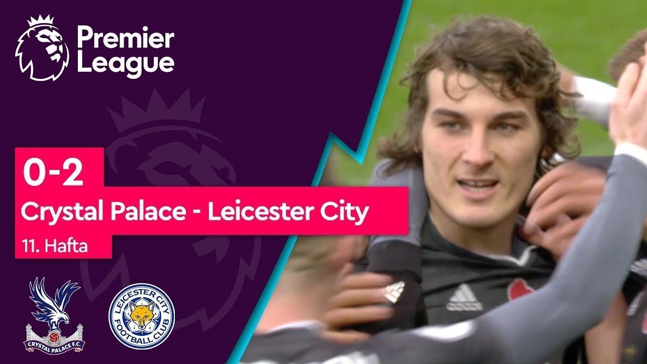 Crystal Palace - Leicester City (0-2) - Maç Özeti - Premier League 2019/20