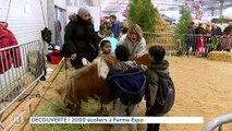 DECOUVERTE 2000 écoliers à Ferme Expo