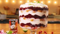 This Cranberry Coconut Trifle Is Basically The Perfect Desert