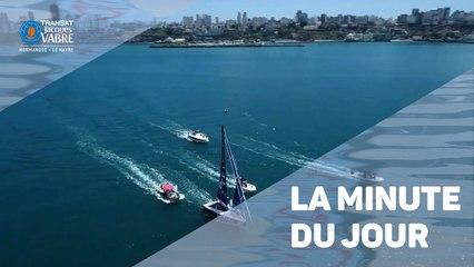 TRANSAT JACQUES VABRE - Minute du jour France Télévisions - 15 /11/2019