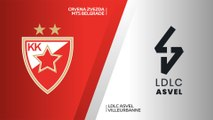 Crvena Zvezda mts Belgrade - LDLC ASVEL Villeurbanne Highlights | Turkish Airlines EuroLeague, RS Round 8