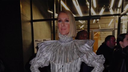 Sure, Celine Dion's Silver Outfit Is Cool, But She Also Brought Back a Very '00s Trend
