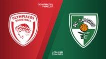 Olympiacos Piraeus -Zalgiris Kaunas Highlights | Turkish Airlines EuroLeague, RS Round 8