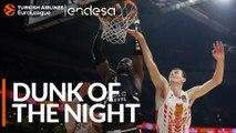Endesa Dunk of the Night: Tonye Jekiri, LDLC ASVEL Villeurbanne