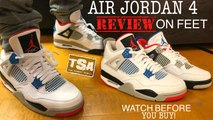 Air Jordan 4 What the Retro Sneaker Detailed Review On Feet + Release Date