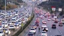 İstanbul trafiğinde son durum -2