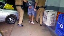 Santa Felicidade: Homem é detido pela PM com mandado de prisão em aberto por roubo