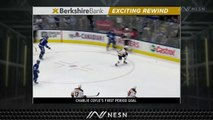 Anders Bjork's Solid Coverage At Point Essential In Charlie Coyle's Goal