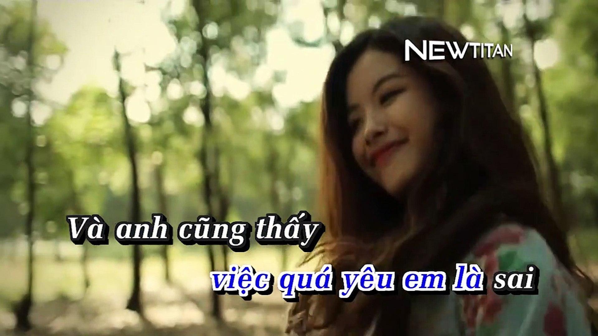 [Karaoke] Đừng Để Anh Thấy Ánh Mắt Em - Vương Anh Tú [Beat]