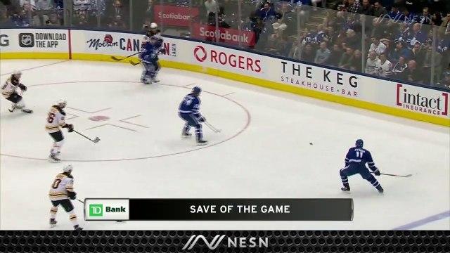Bruins Snap Losing Streak As Tuukka Rask Comes Up Huge Vs. Maple Leafs