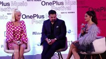 Press Conference Of American Singer Katy Perry & Jacqueline At OnePlus & Universal Music Group