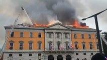 L'hôtel de ville d'Annecy restera fermé pendant deux ans, le temps de reconstruire ce bâtiment ravagé par un incendie jeudi