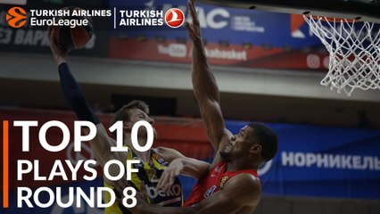 Regular Season, Round 8: Top 10 plays