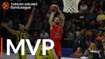 Turkish Airlines EuroLeague Regular Season Round 8 MVP: Mike James, CSKA Moscow