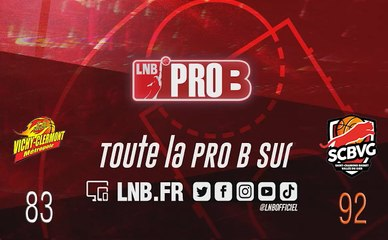 PRO B : Vichy-Clermont vs Saint-Chamond (J6)