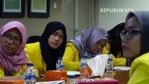 Mahasiswa Politeknik Negeri Belajar Jurnalistik di Republika