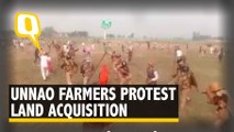 Unnao Farmers Protest Inadequate Compensation for Land Acquired for Infra Project