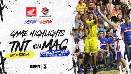 Highlights: TNT vs Magnolia | PBA Governors' Cup 2019