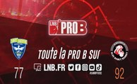 PRO B : Saint-Quentin vs Nancy (J6)