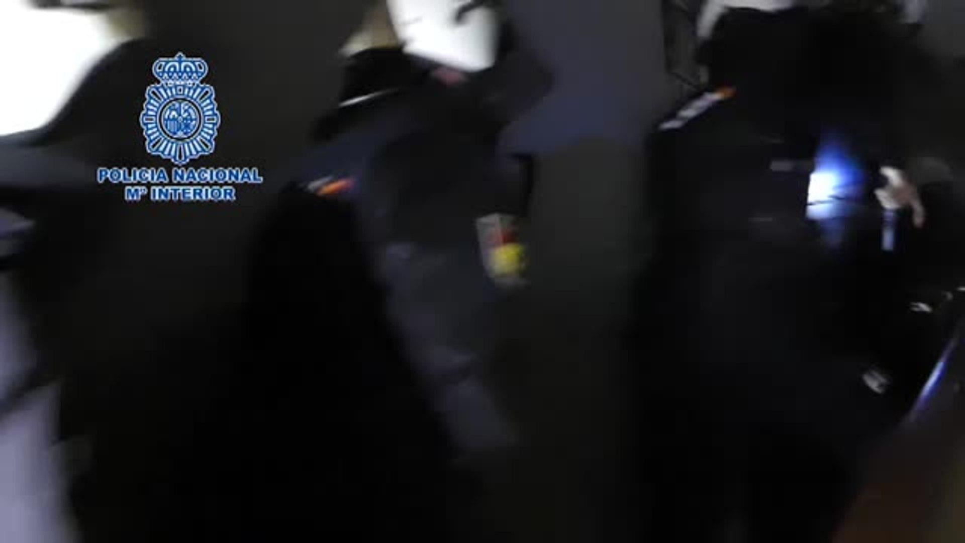 La Policía Nacional desarticula una banda dedicada a la comercialización ilegal de canales de televi