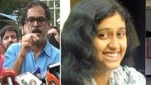 Fathima latheef's father met Chennai police commissioner Viswanathan