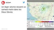Un séisme ressenti samedi matin dans les Deux-Sèvres