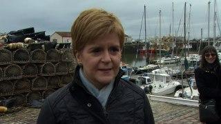 Sturgeon: Vote for SNP is a vote to decide Scotland's future