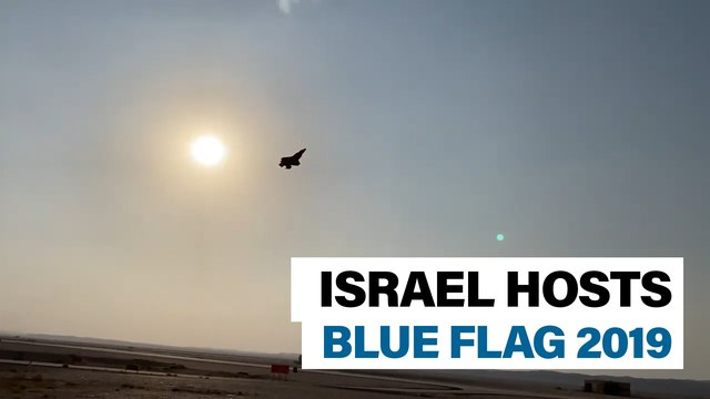 Israeli exercise Blue Flag tests air defense suppression